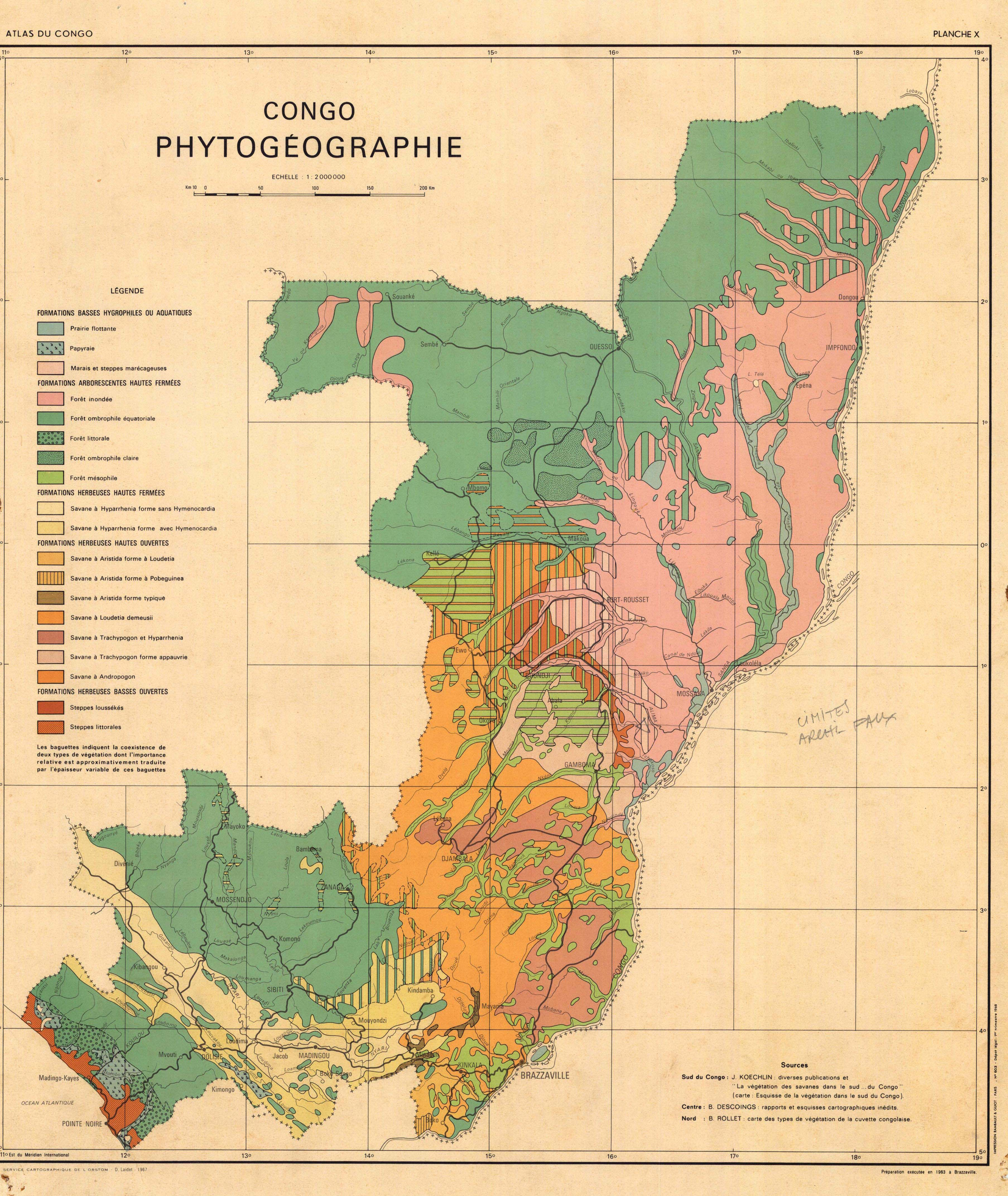 carte du congo brazzaville The soil maps of Africa   Display Maps