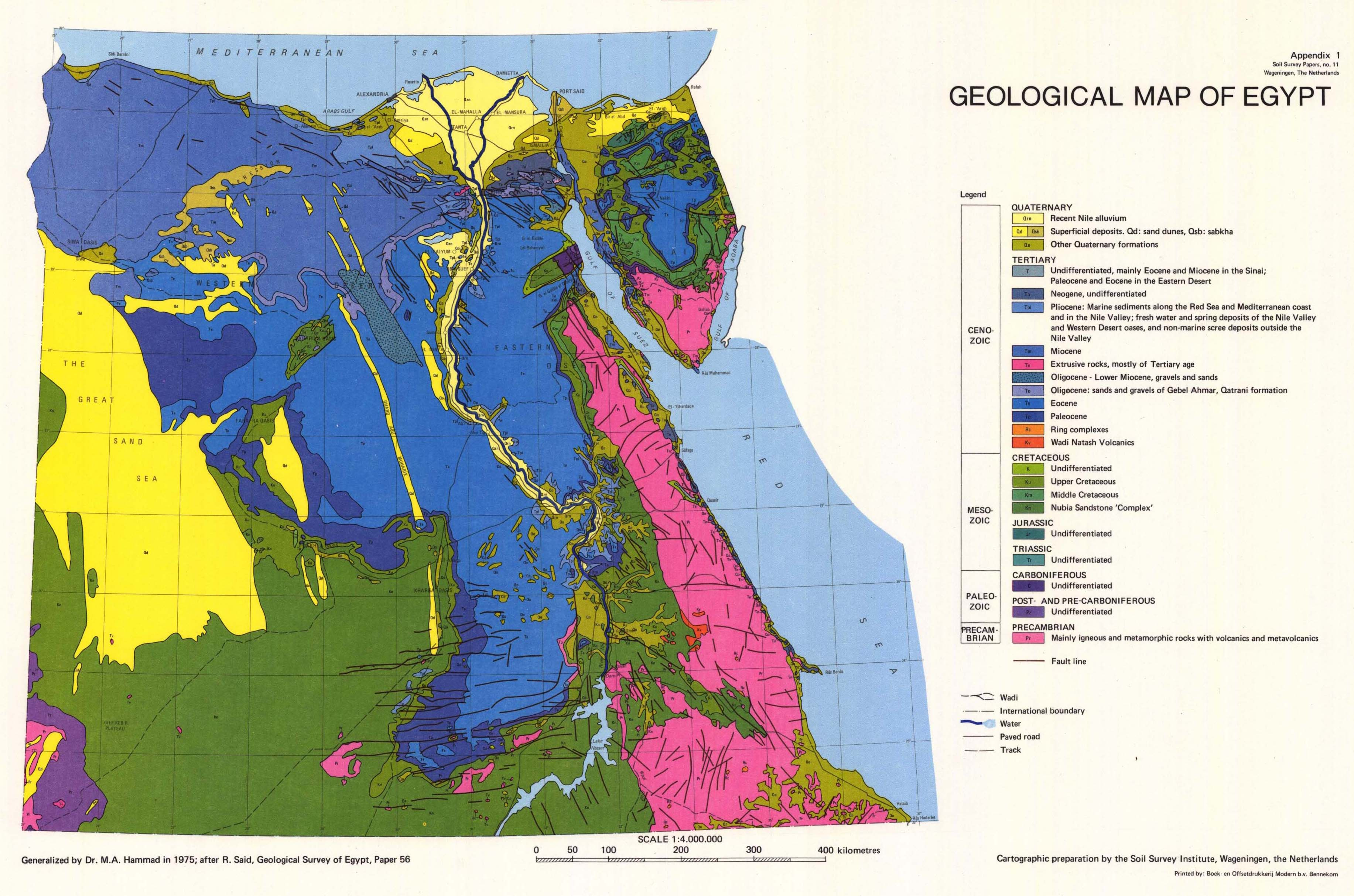 The soil maps of Africa Display Maps