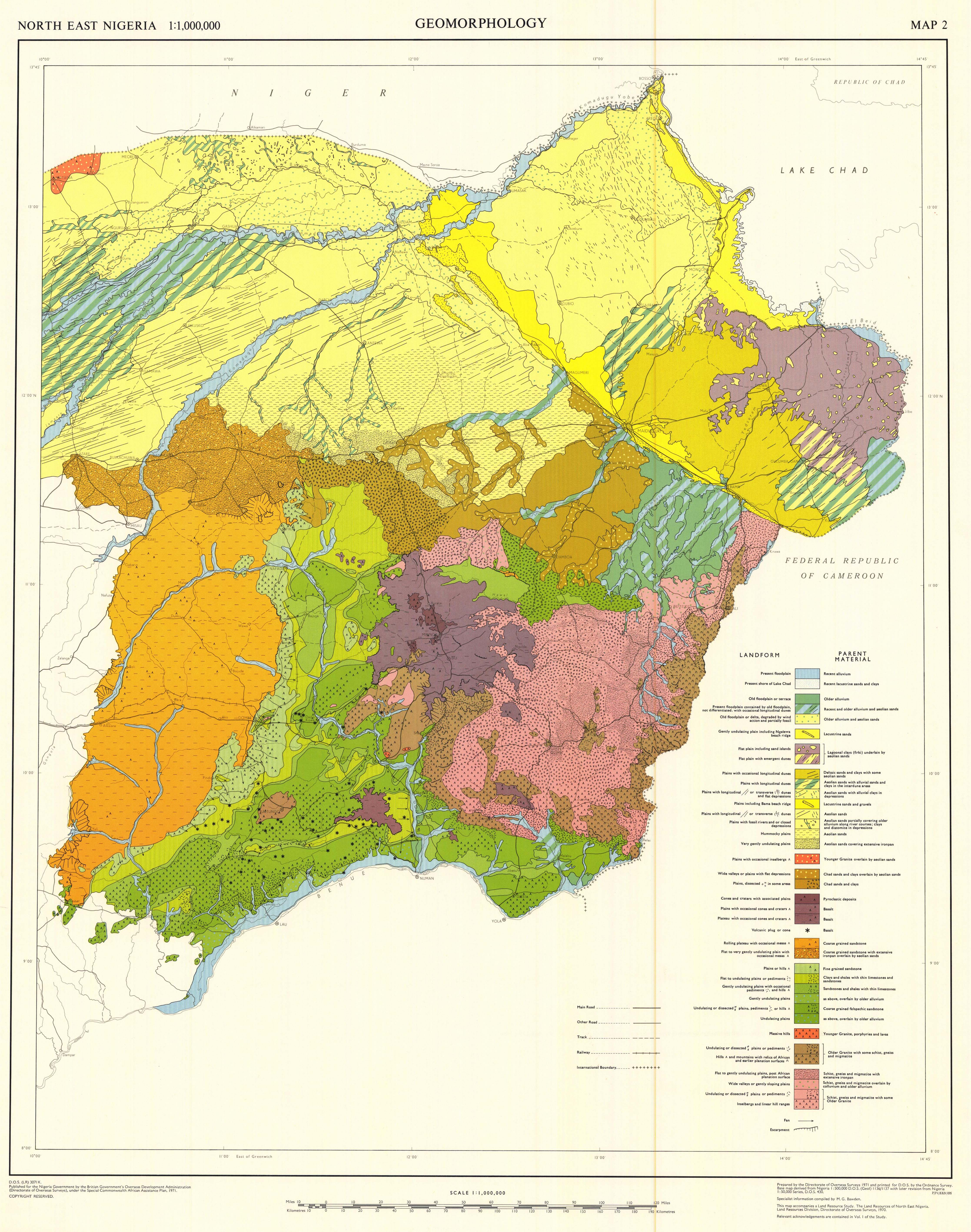 The soil maps of africa display maps title north east nigeria ccuart Gallery