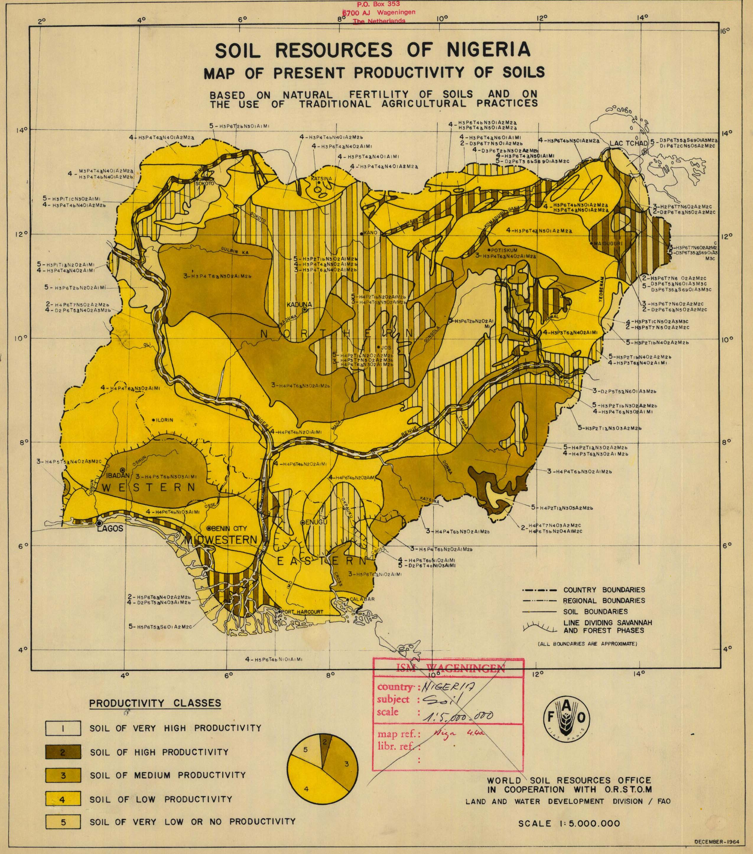 The soil maps of africa display maps title soil resources map of nigeria ccuart Choice Image