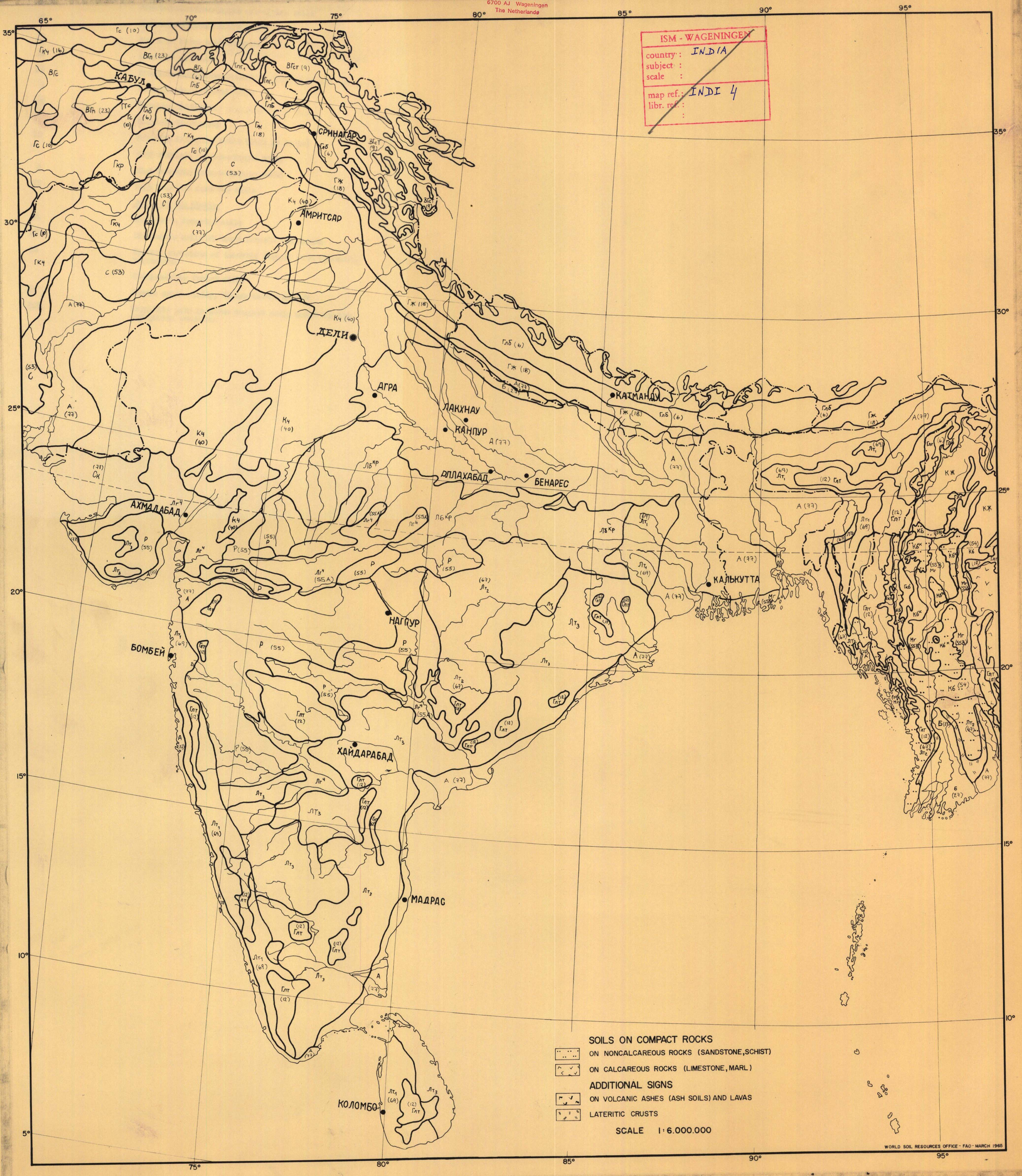 The soil maps of Asia - Display Maps