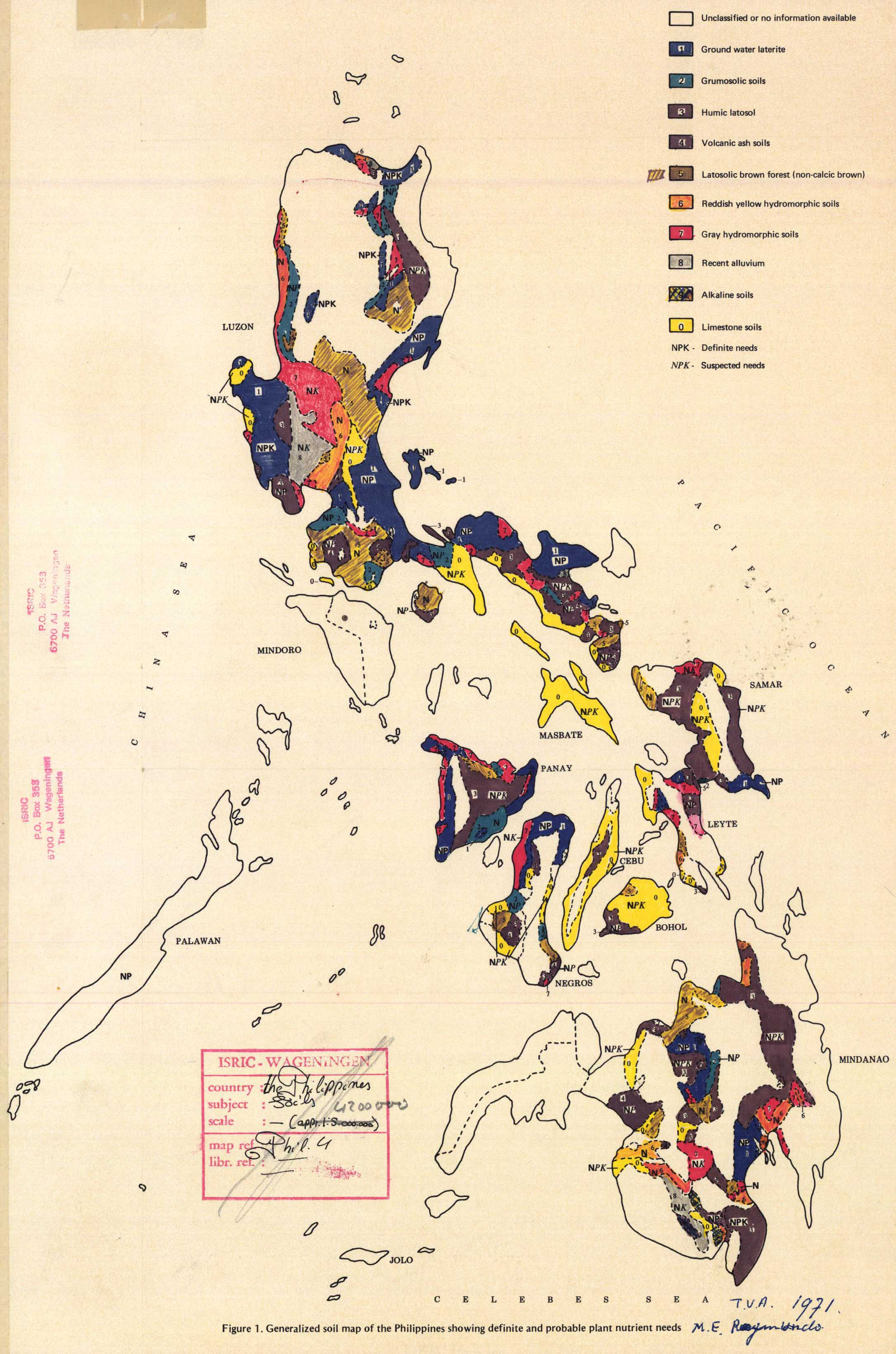 The soil maps of Asia  Display Maps