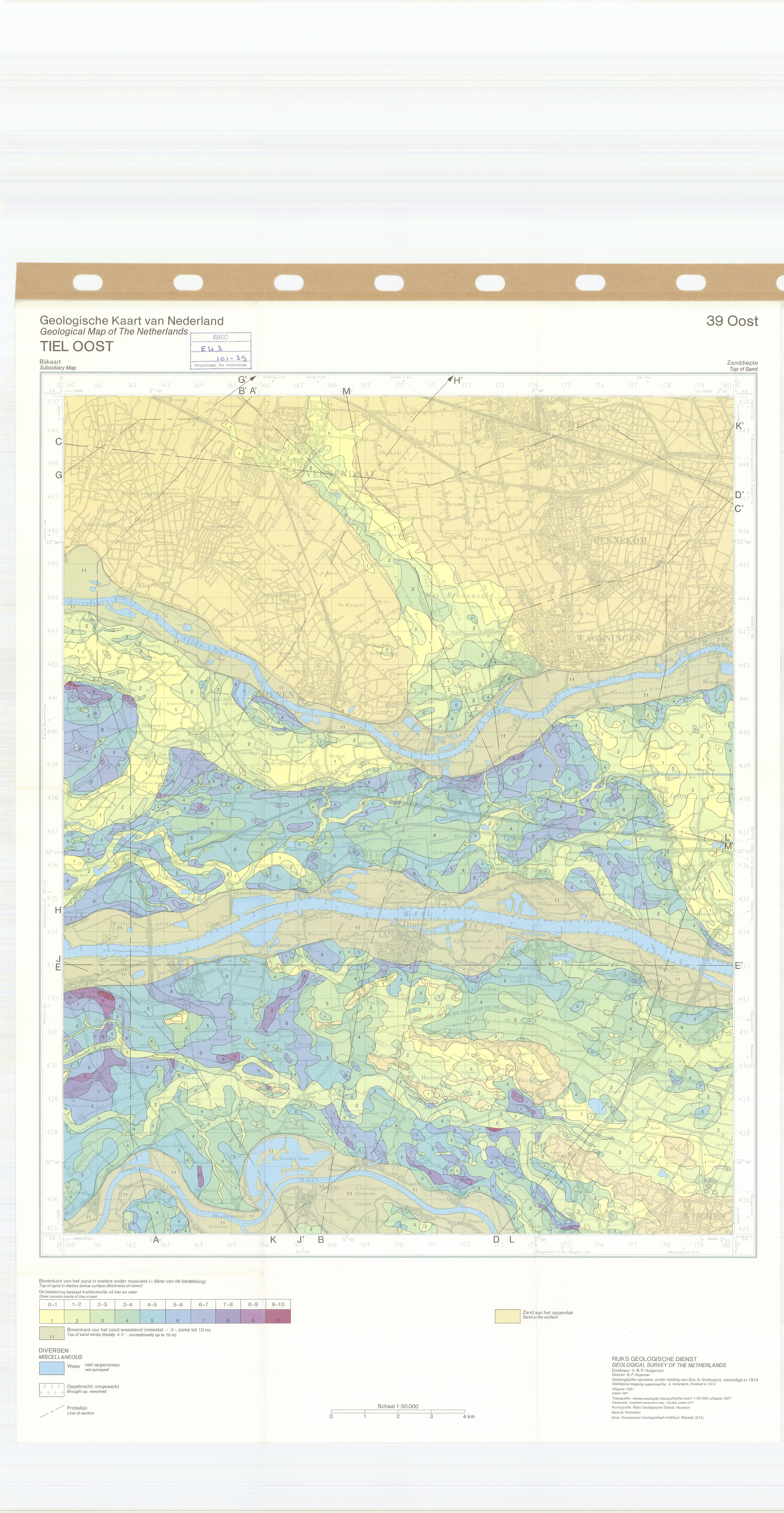 Geological map of the Netherlands ESDAC European Commission