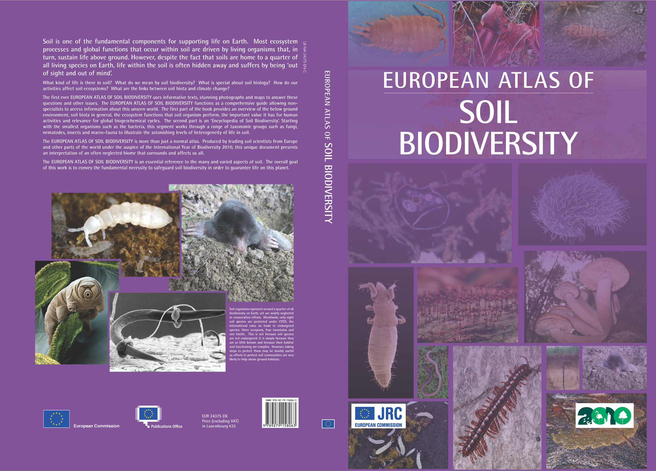 atlas of soil biodiversity - esdac