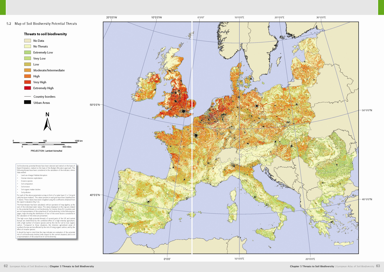 Atlas Of Soil Biodiversity Esdac European Commission