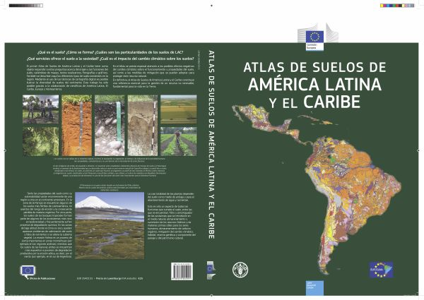 Soil atlas of latin america and the caribbean for Soil in english