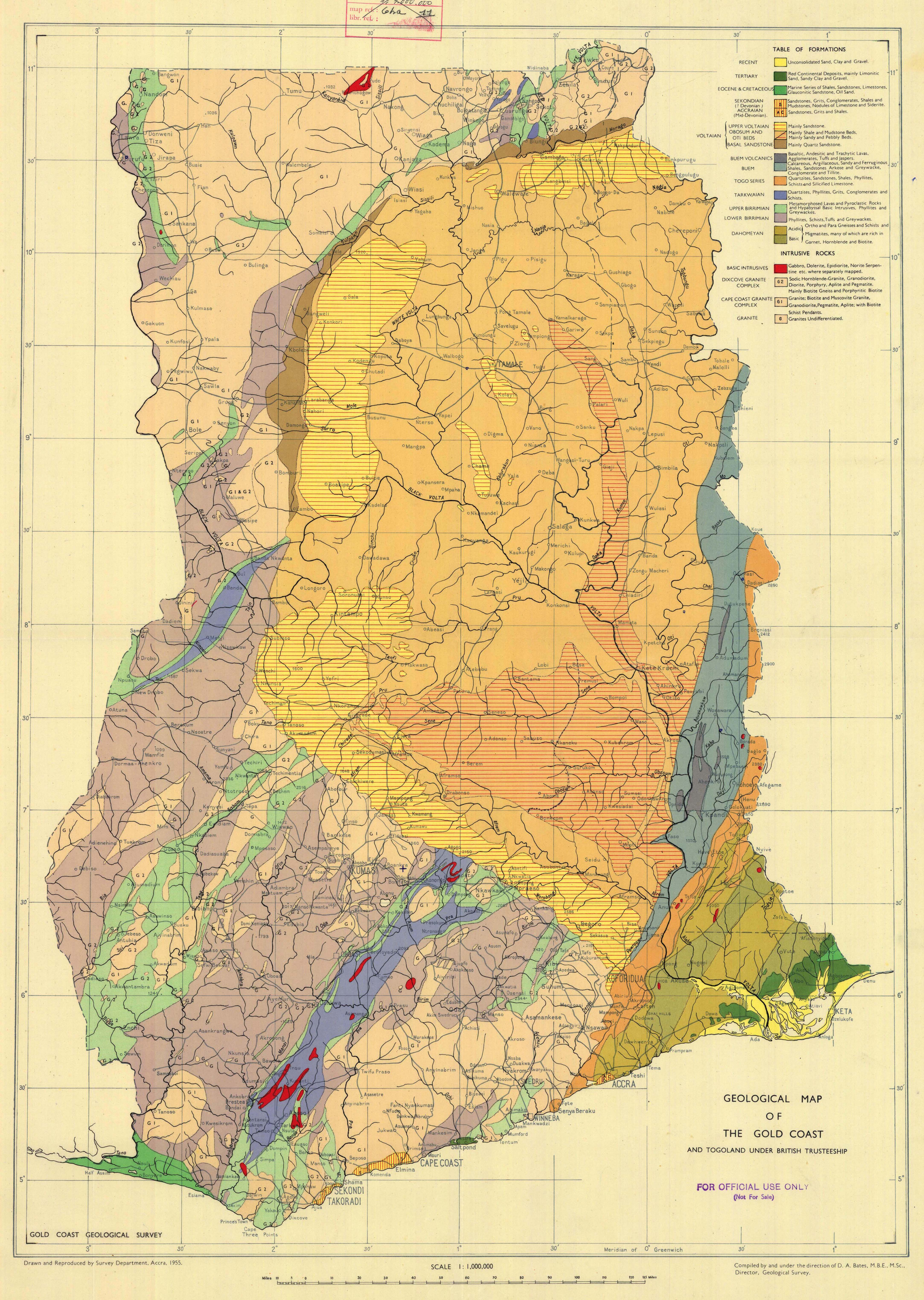 Geological Map Of The Gold Coast Esdac European Commission