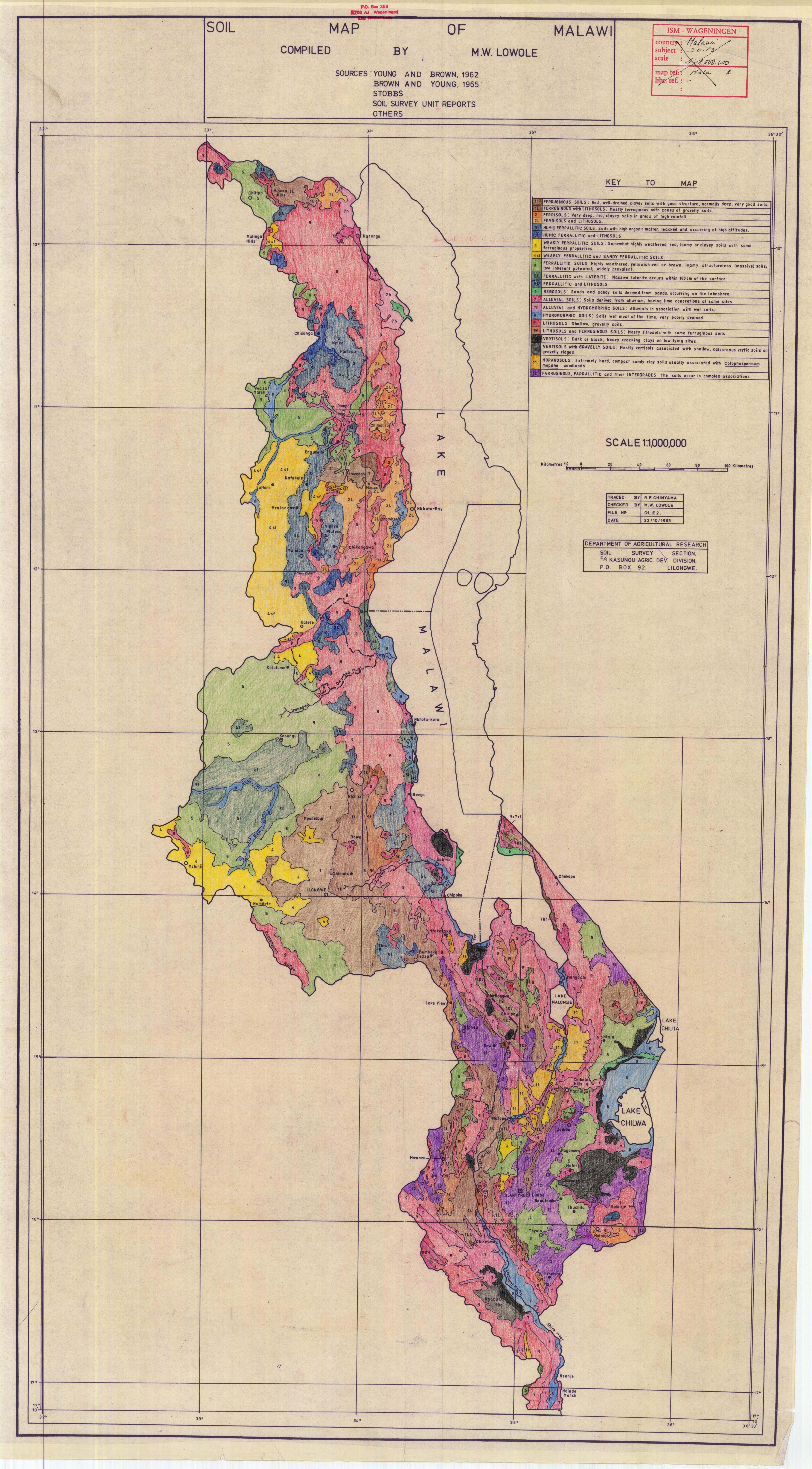 Malawi On Africa Map.Soil Map Of Malawi Esdac European Commission