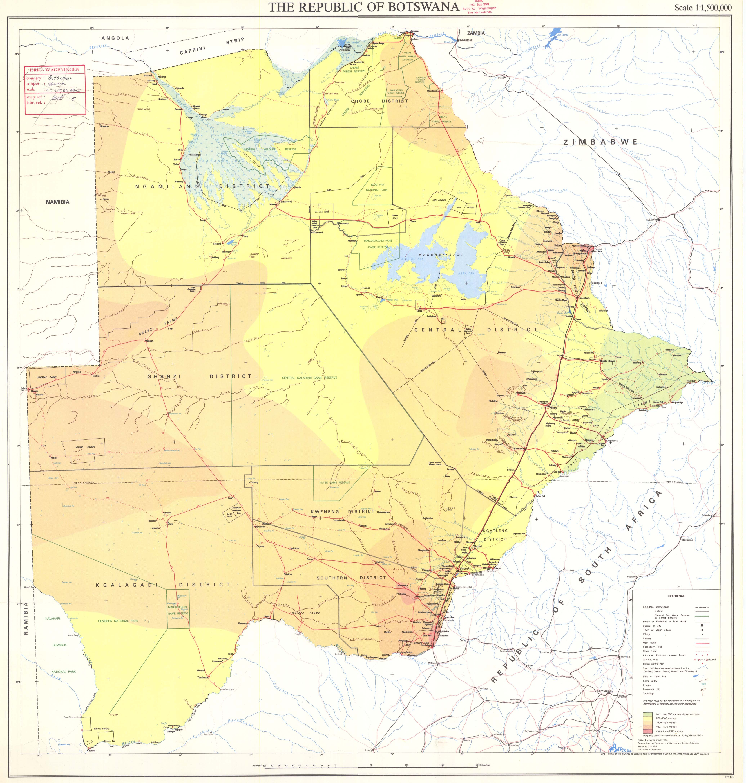 The Republic of Botswana ESDAC European Commission