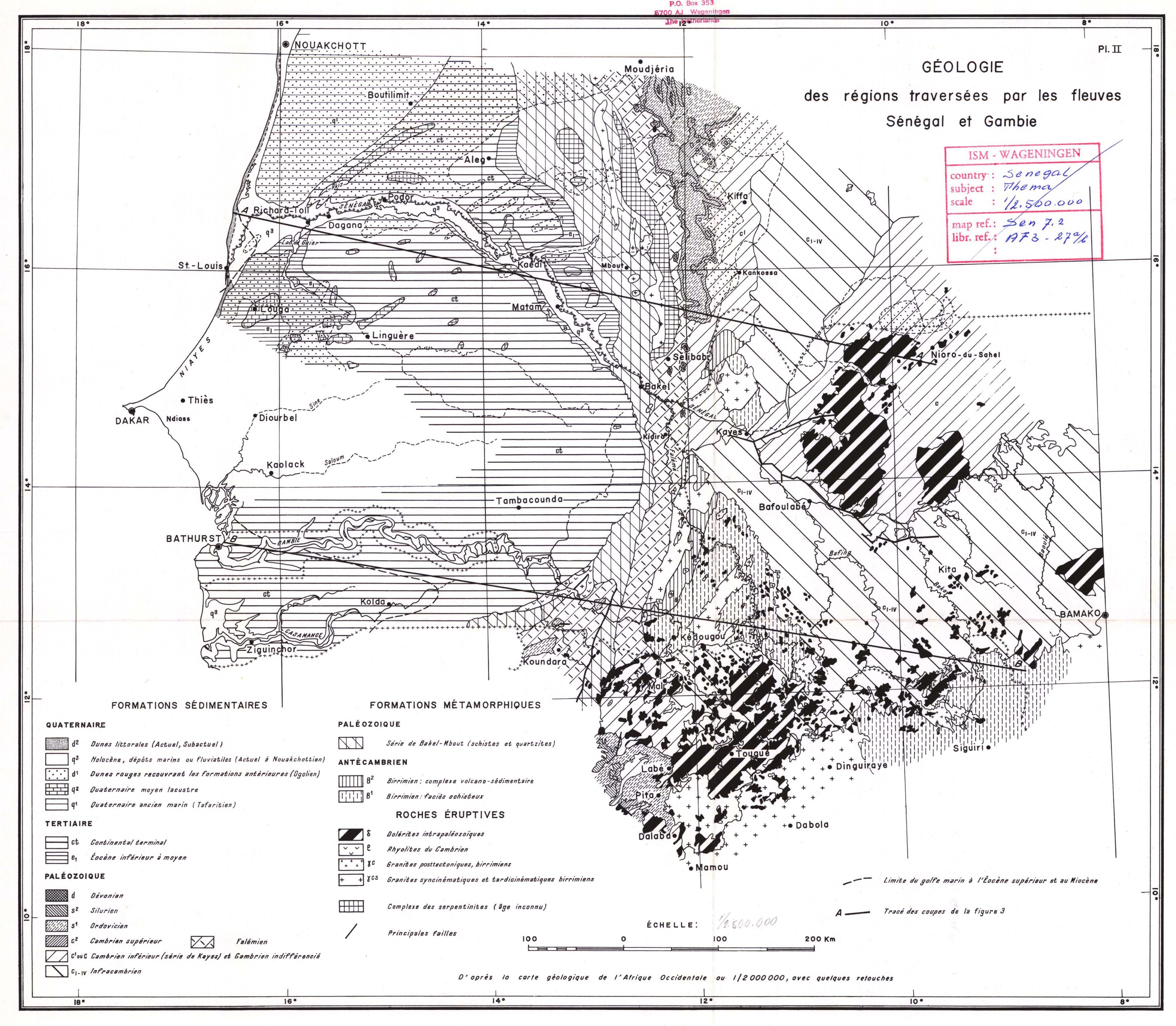 Image Result For Dakar On Map