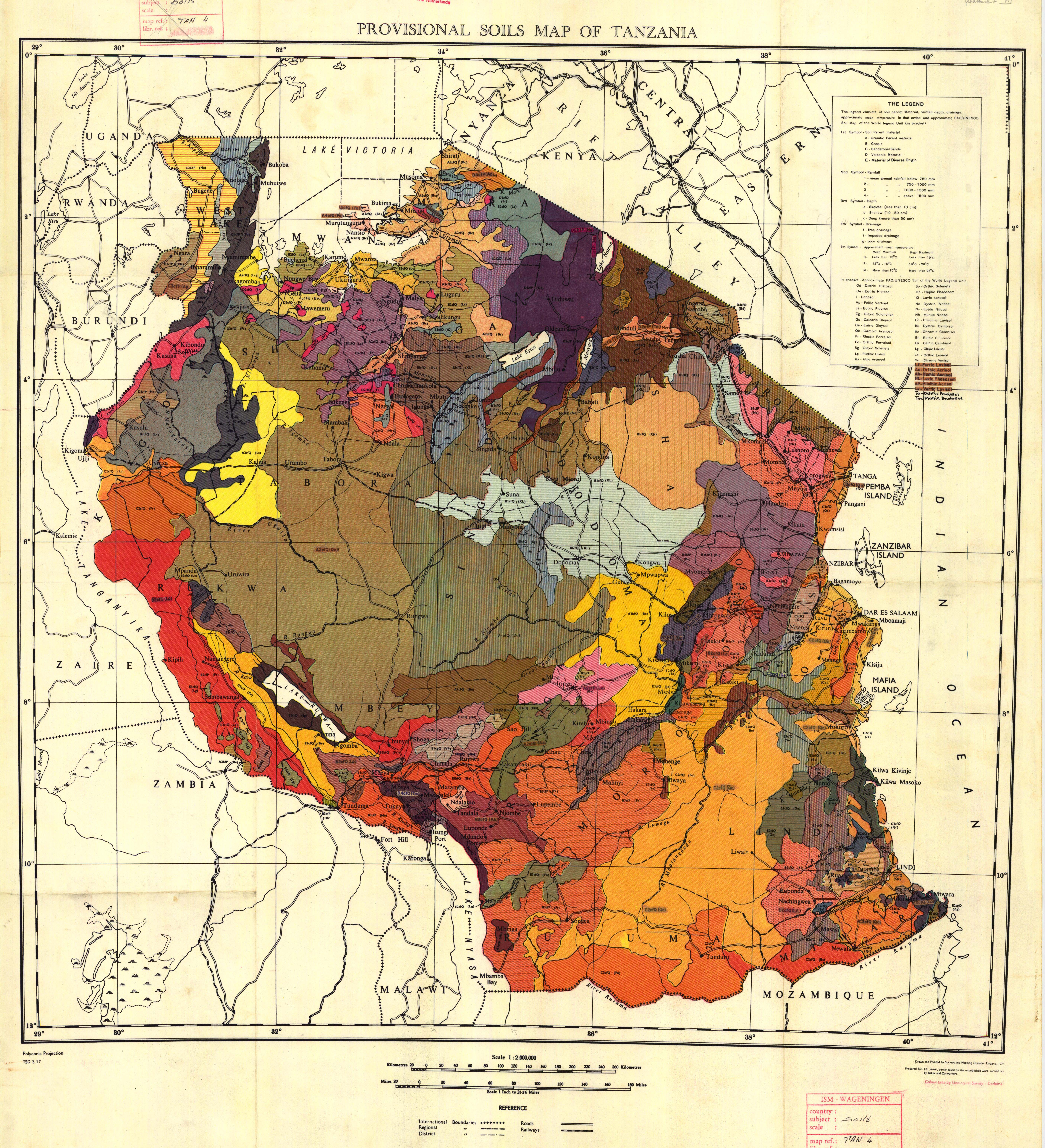 Provisional soils map of tanzania esdac european commission download gumiabroncs Image collections