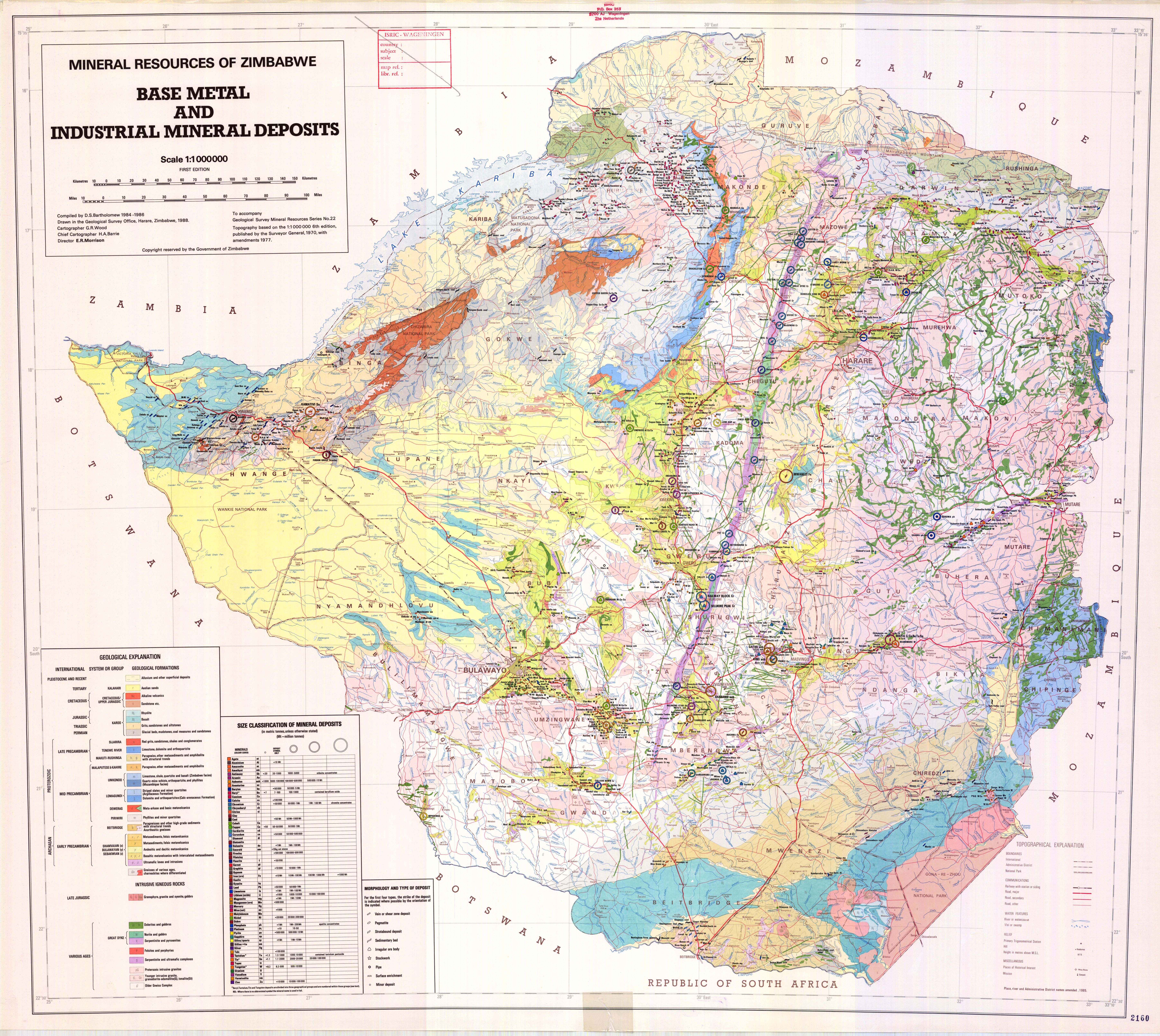 National soil maps eudasm esdac european commission mineral resources of zimbabwe base metal and indusrial mineral deposits gumiabroncs Images
