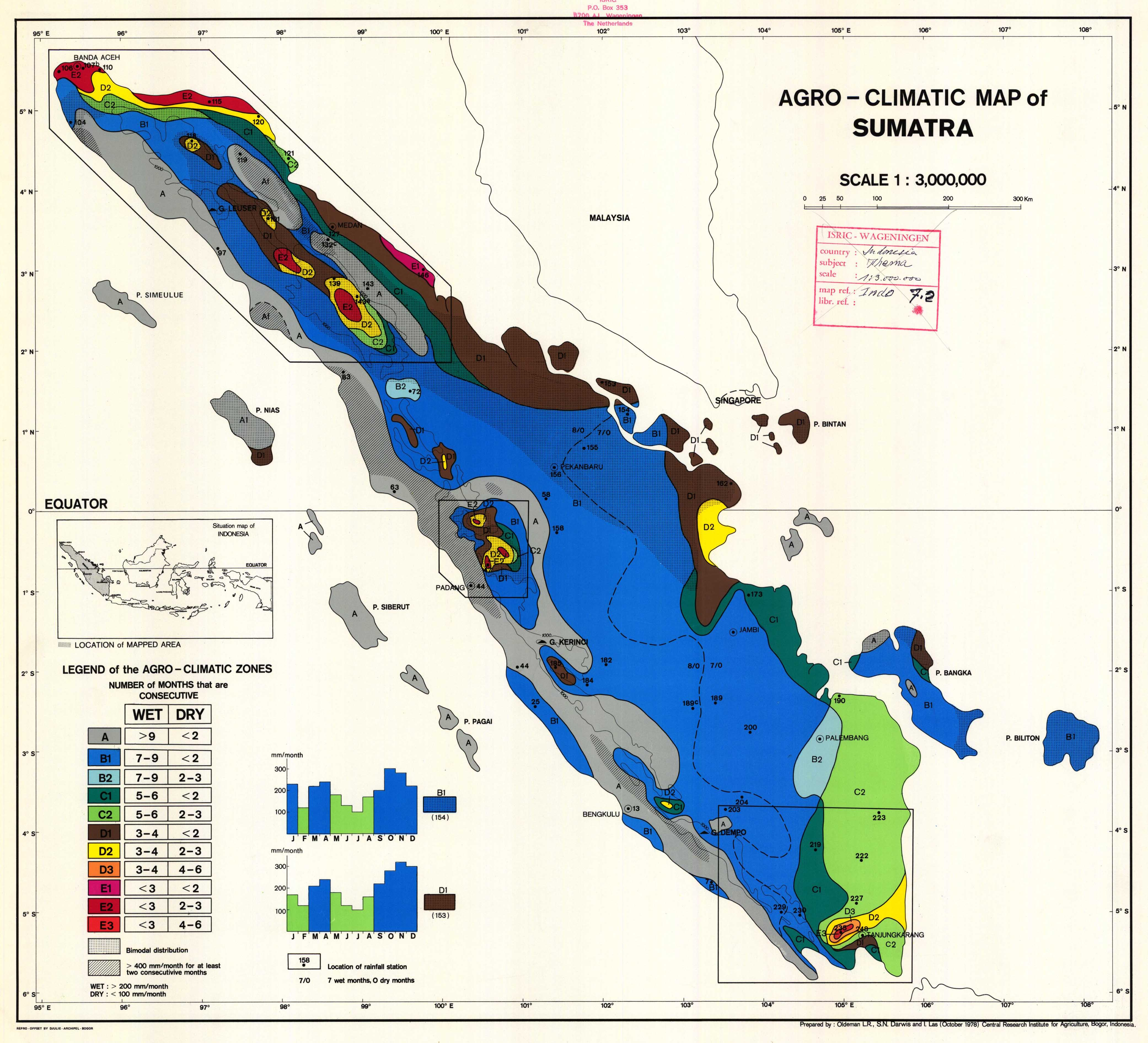 Picture of: Agro Climatic Map Of Sumatra Esdac European Commission