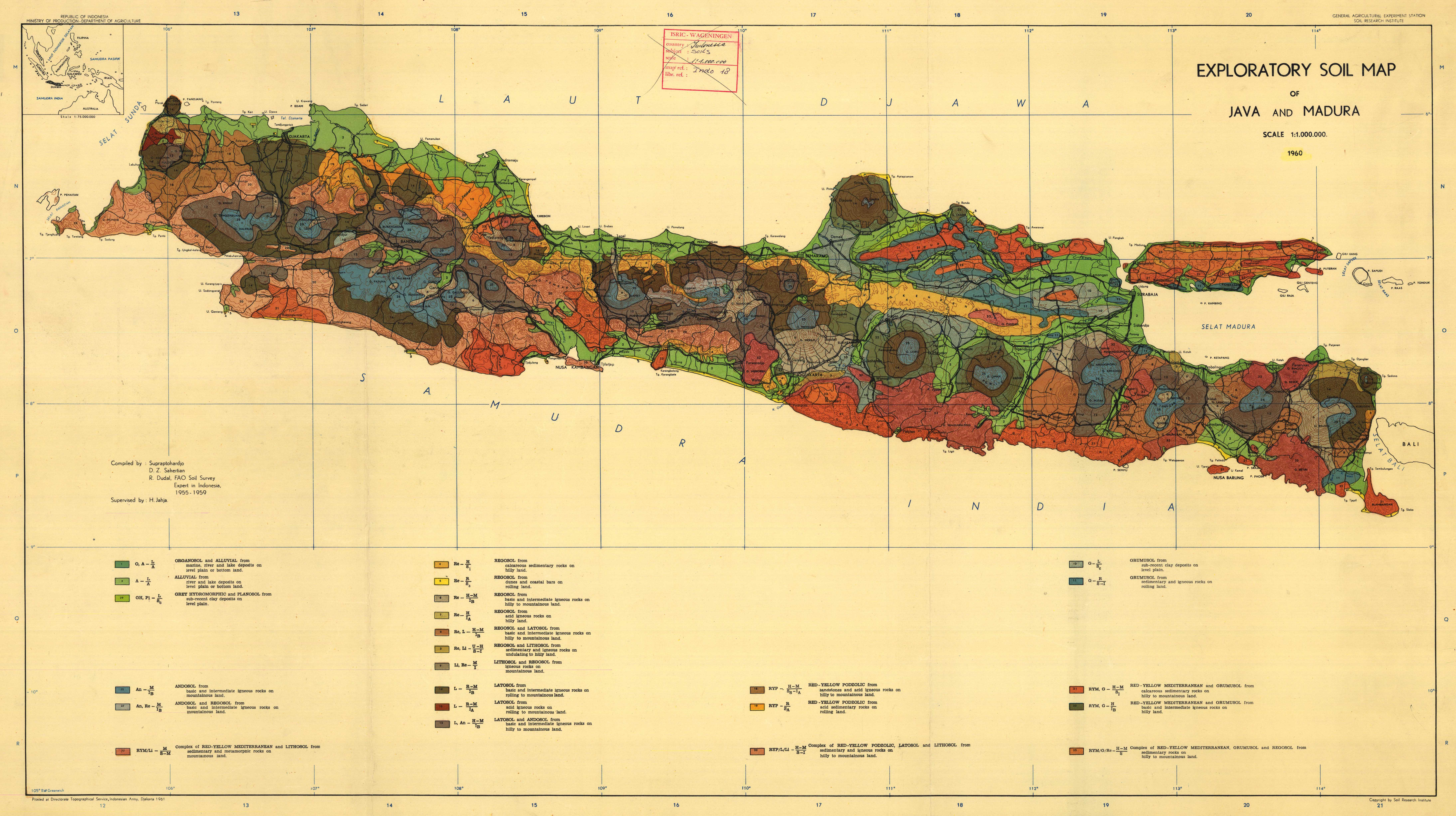 Exploratory soil map of java and madura esdac european commission download gumiabroncs Images