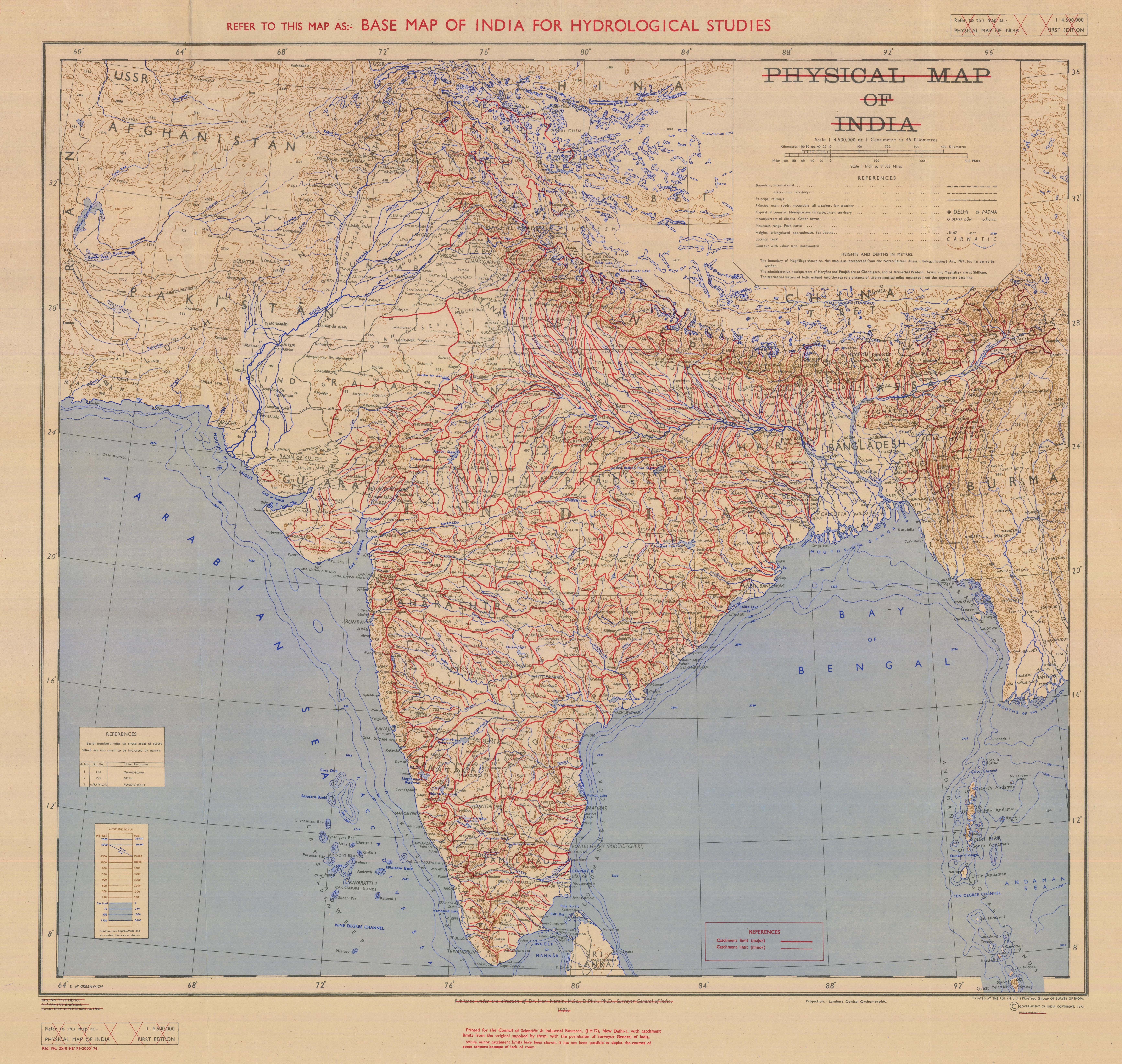 Base map of india for hydrological studies esdac european base map of india for hydrological studies download gumiabroncs Gallery