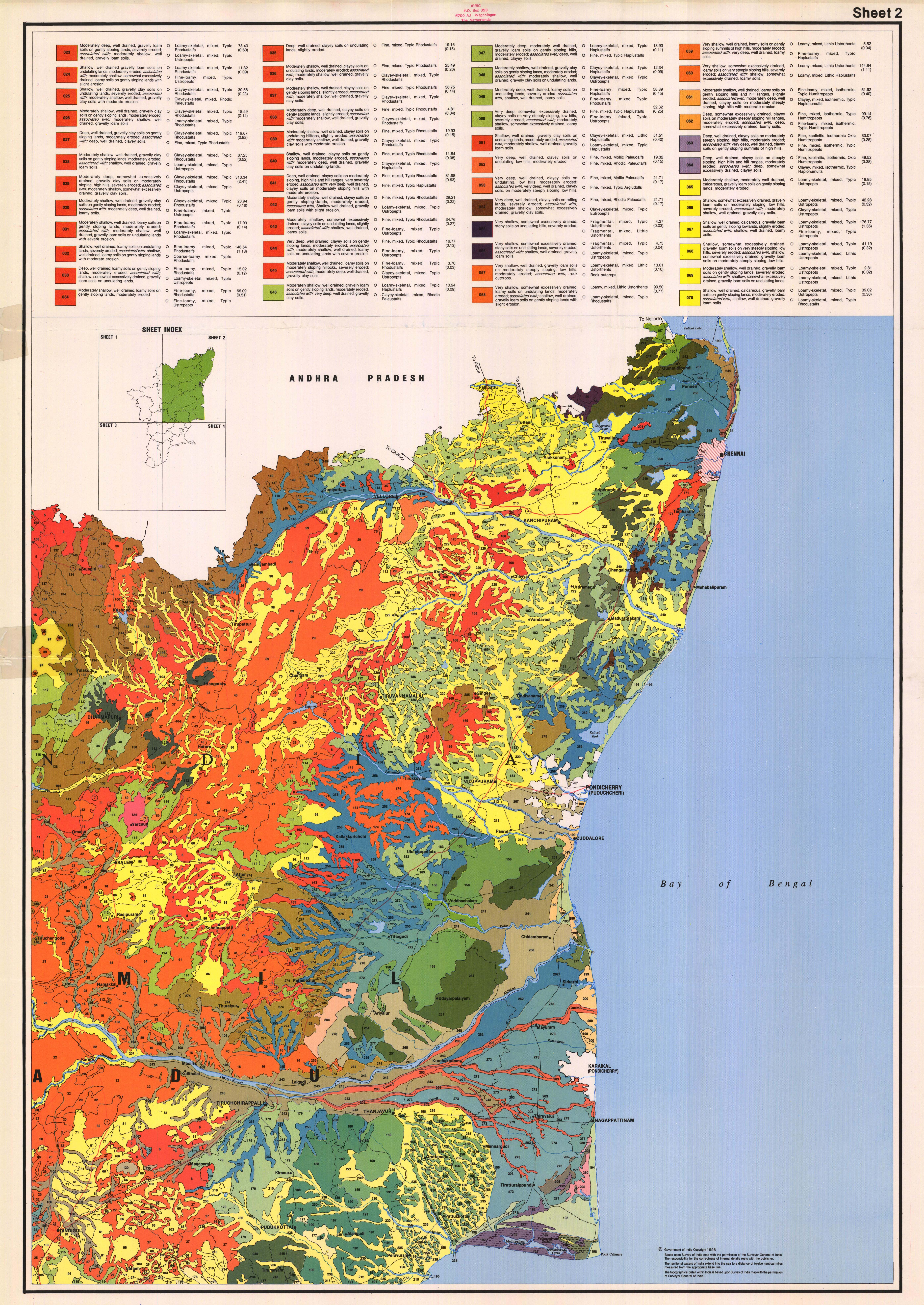 National soil maps eudasm esdac european commission tamil nadu soils sheet 2 gumiabroncs Gallery