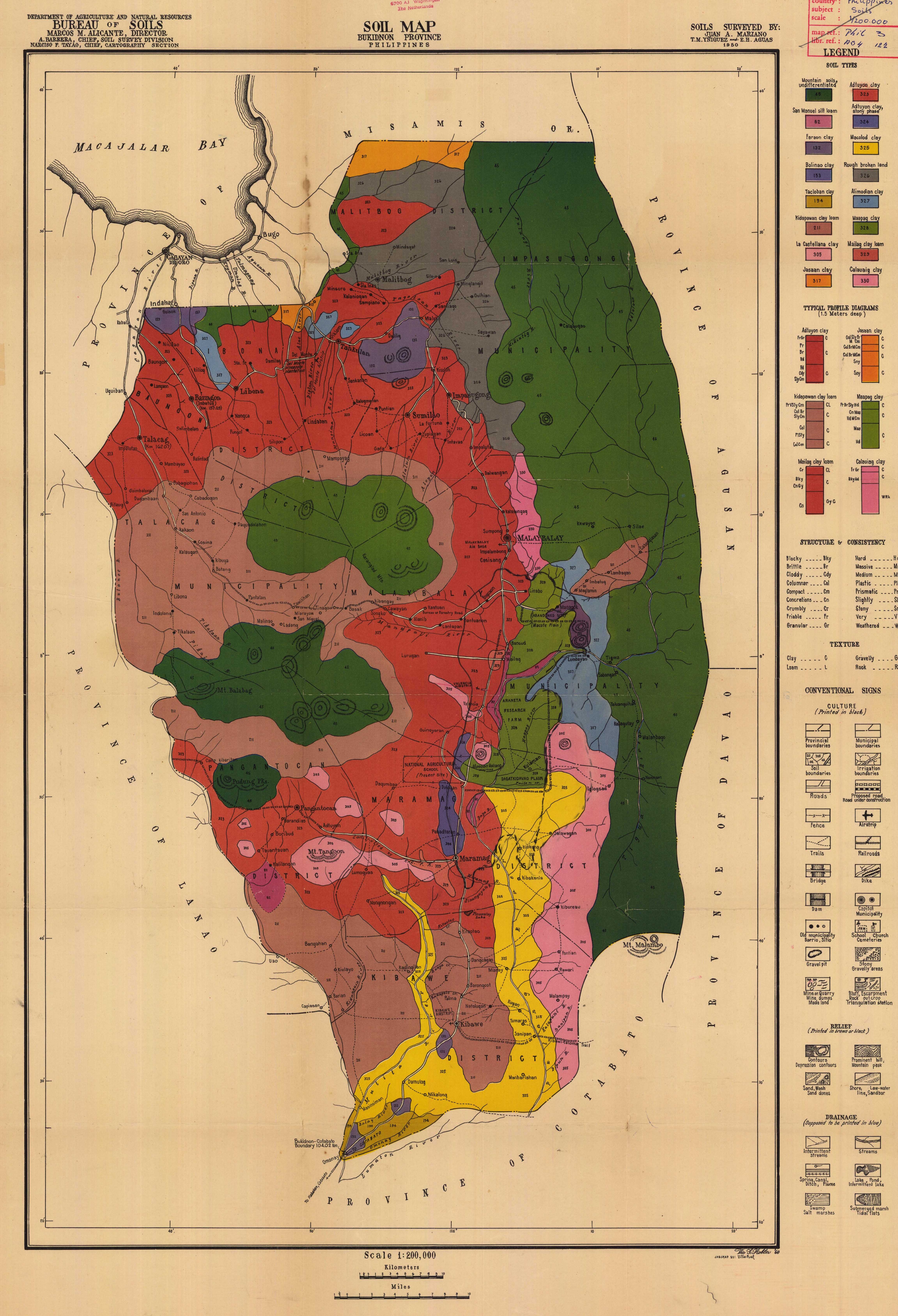 Soil Map Bukidnon Province Philippines Esdac European Commission