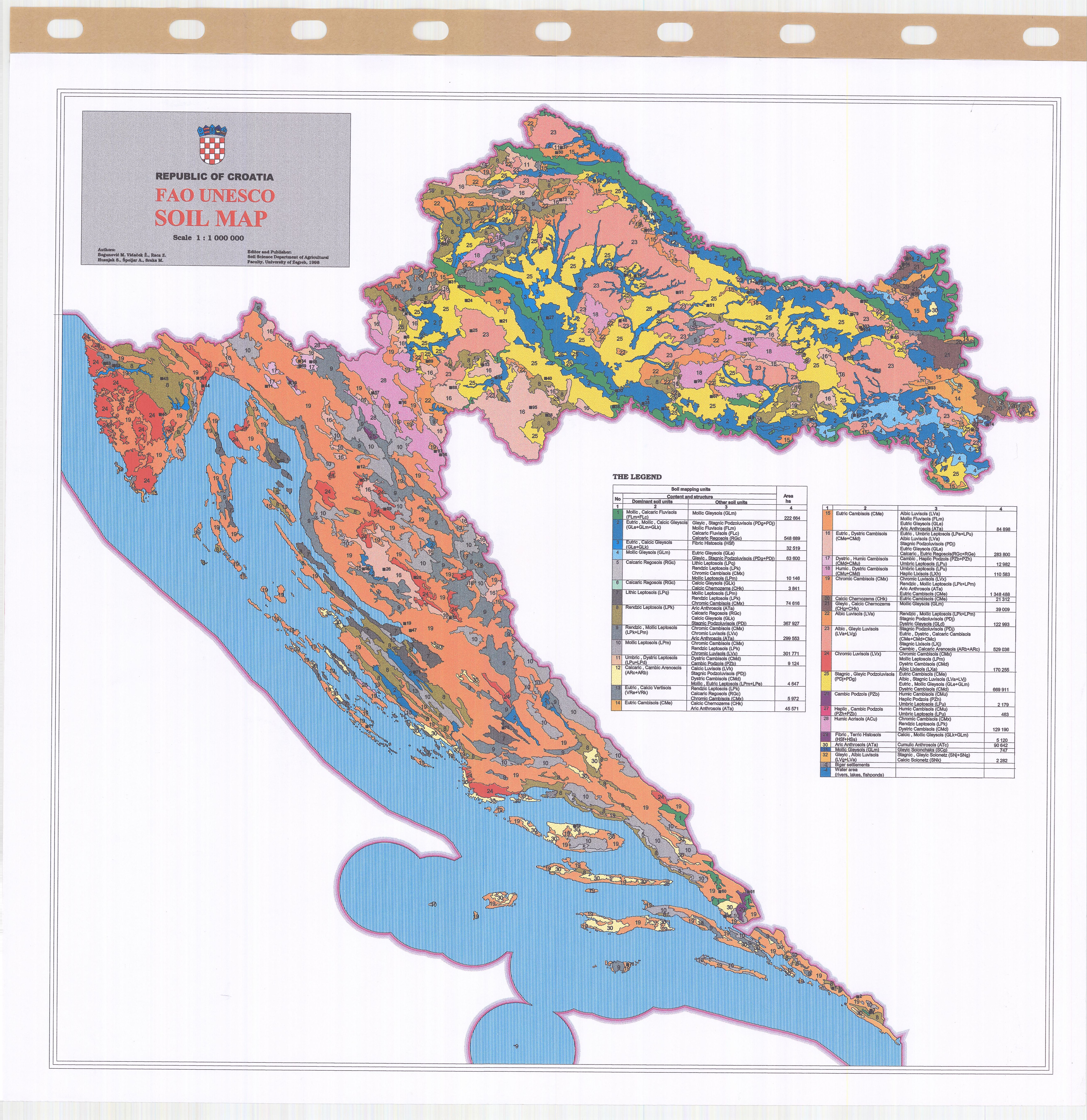 Soil map croatia fao unesco esdac european commission download gumiabroncs Image collections