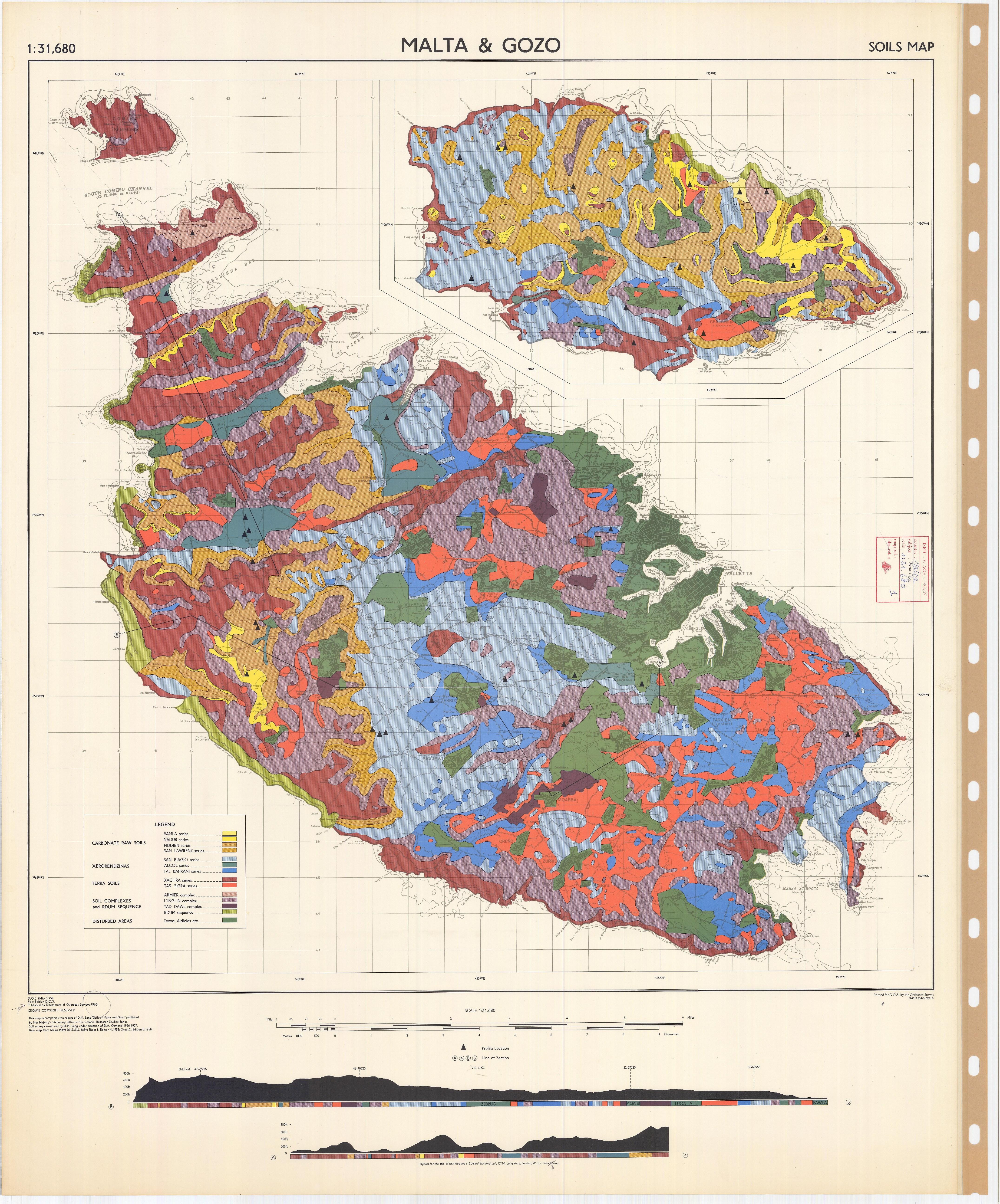 Soil Map {of} Malta $ Gozo - ESDAC - European Commission