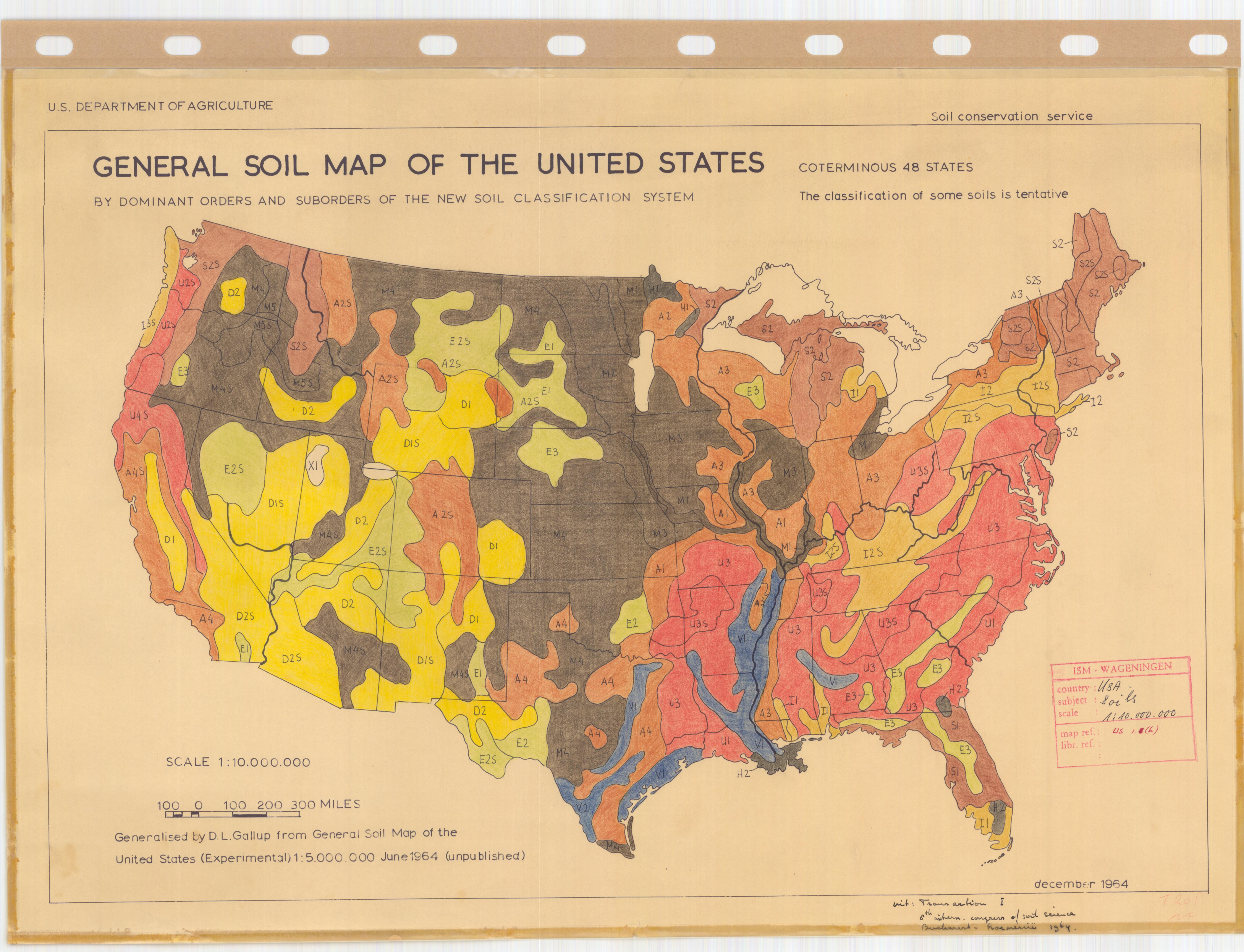 Title General Soil Map Of The United Sates Sheet No 2