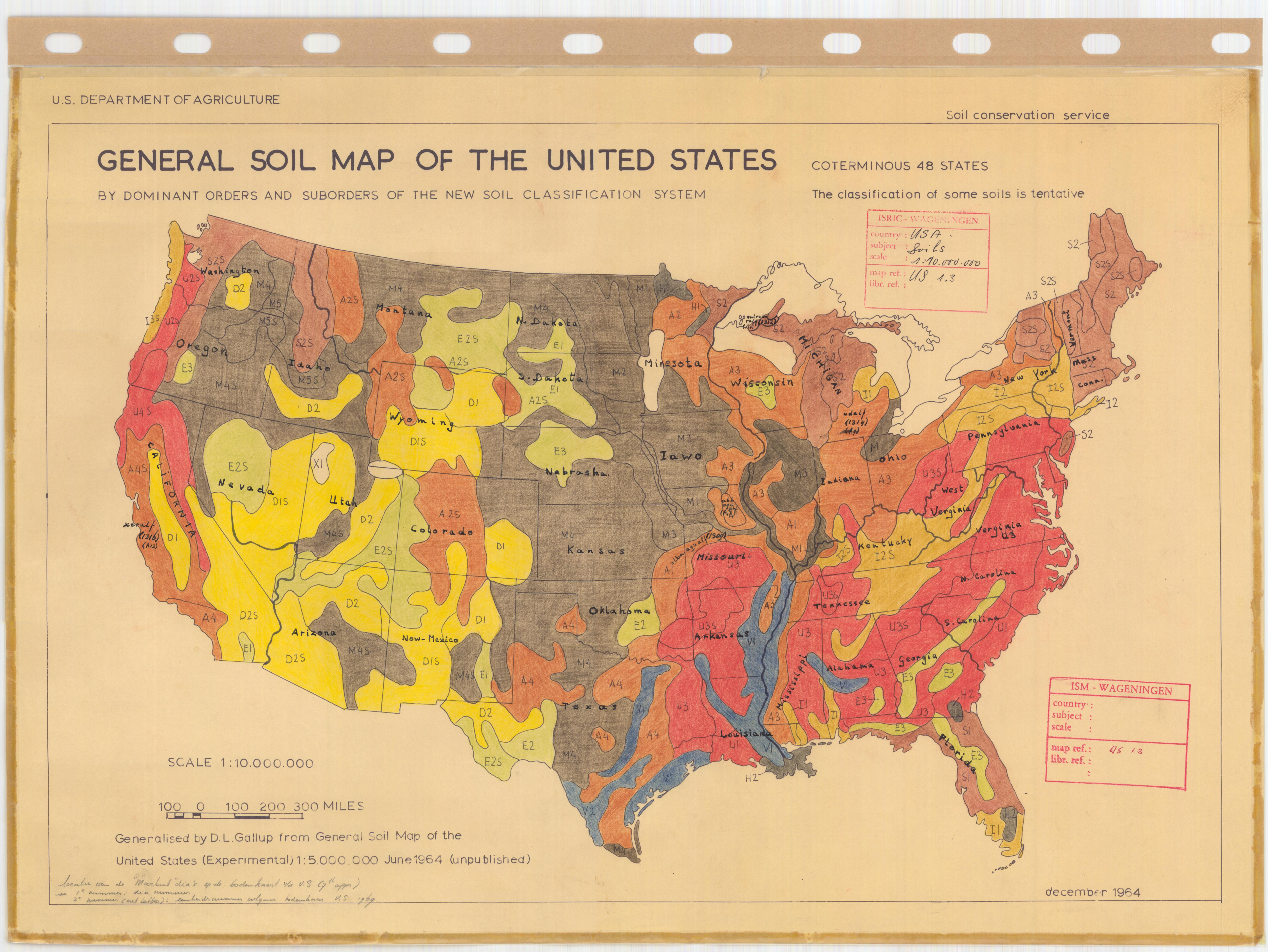 General Soil Map Of The United States Sheet No 3 Esdac
