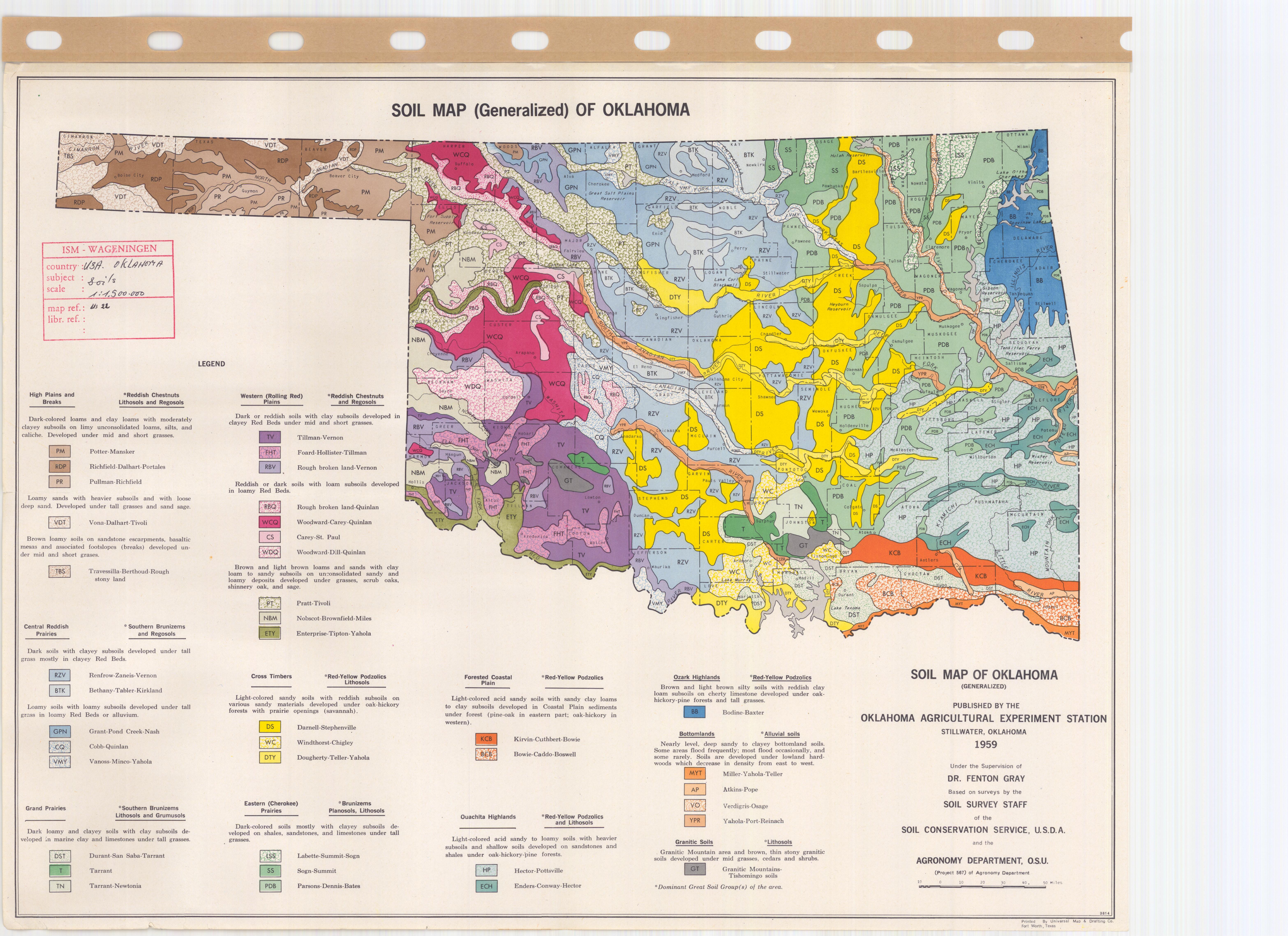 Soil Map Of Oklahoma - ESDAC - European Commission Oklahoma Map on
