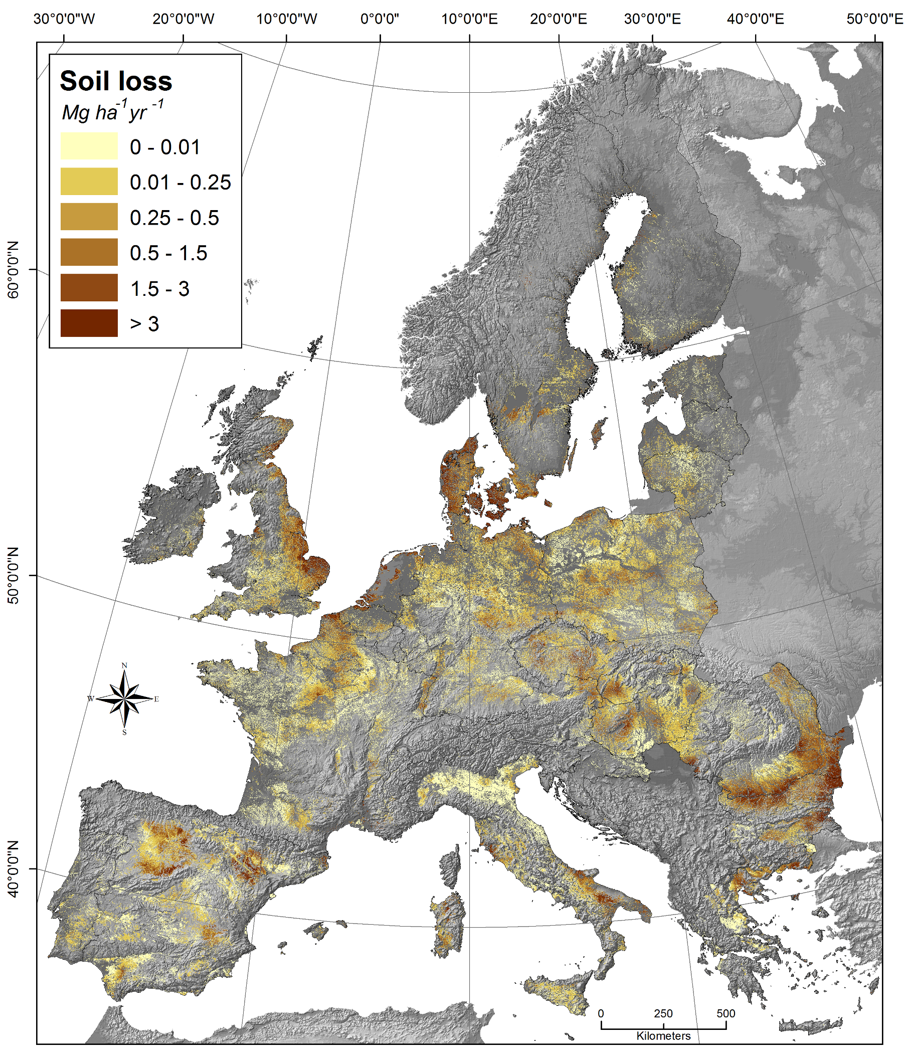 Soil erosion by wind esdac european commission for The soil the soil