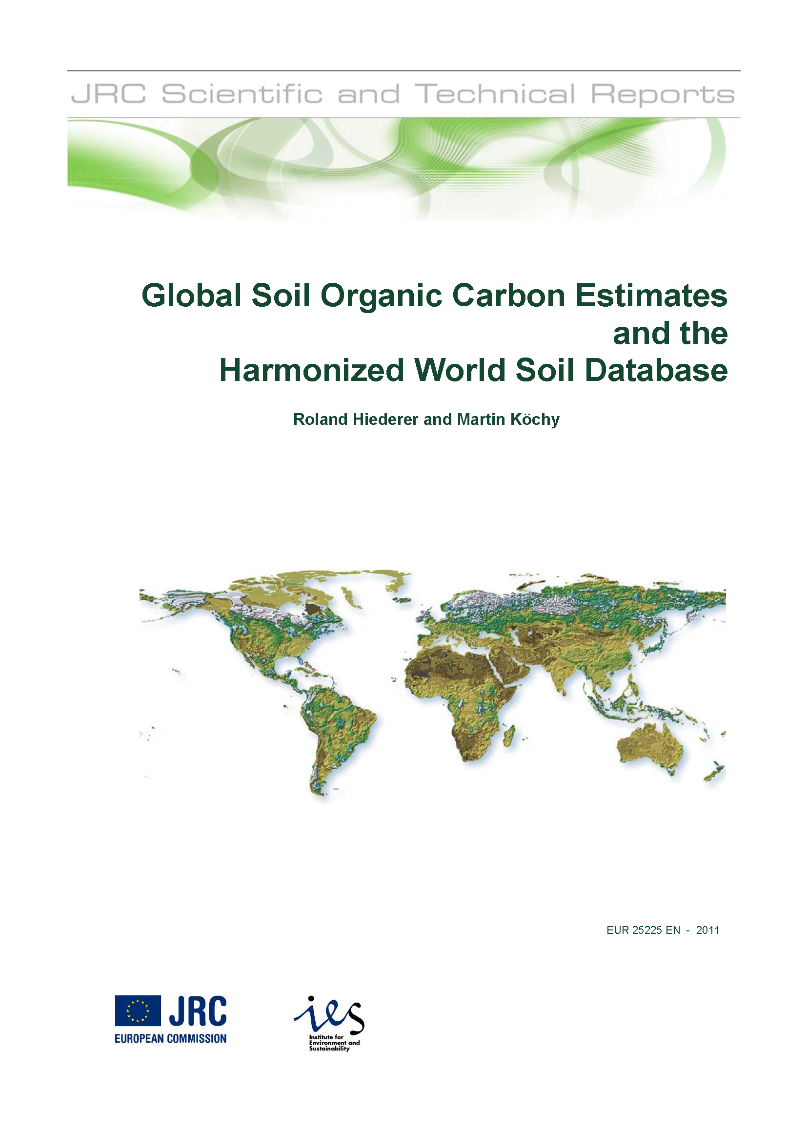 Global soil organic carbon estimates esdac european for Soil organic carbon